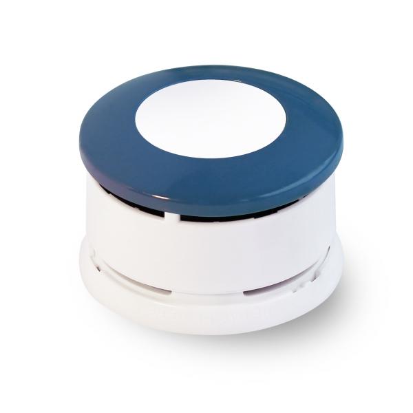 Fa ade de couleur bleu de minuit pour d tecteur de fum e - Produit pour facade maison ...