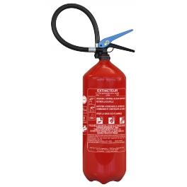 Extincteur à eau 6L Lifebox pour feux de classe A et B