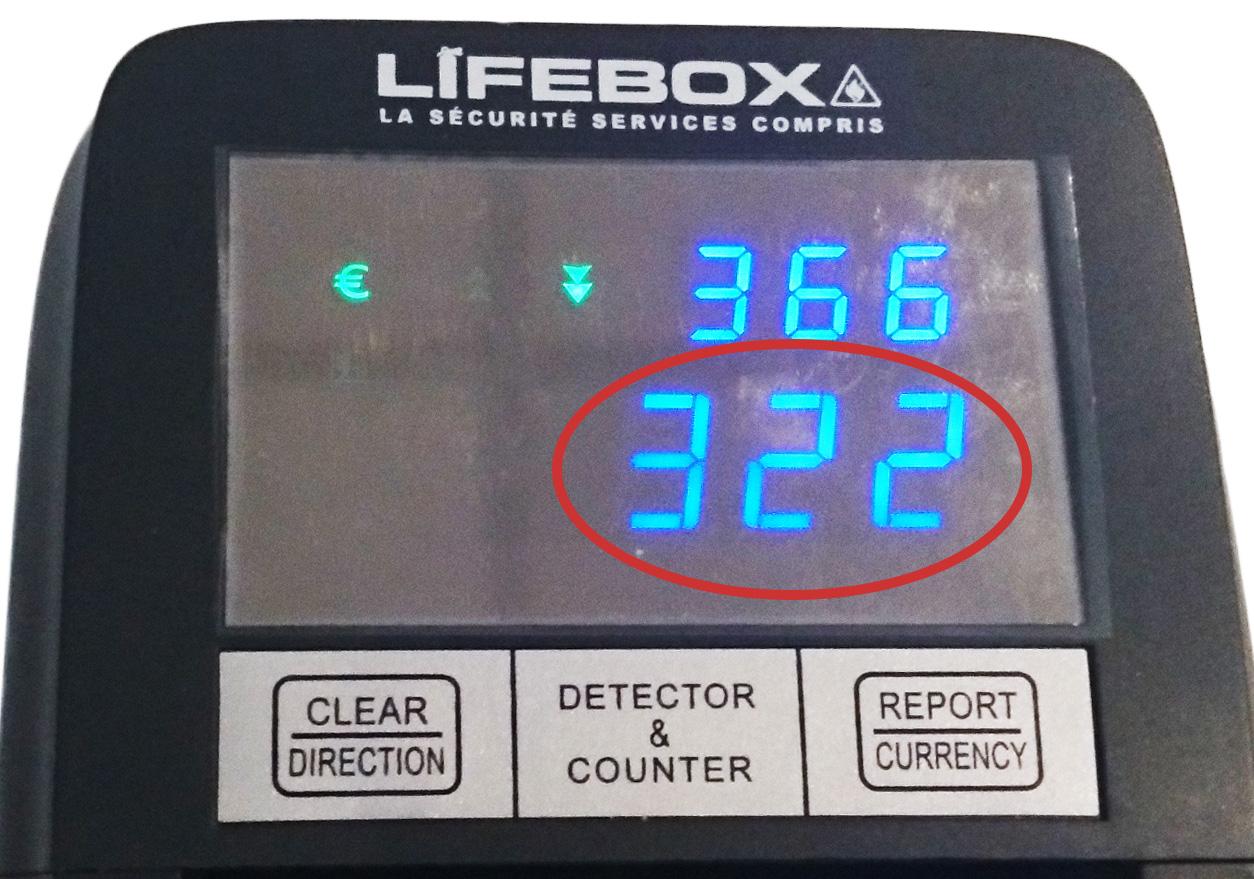 numéro allumage du détecteur