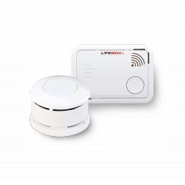 Lot détecteur de fumée certifié NF pile 5 ans + détecteur de monoxyde de carbone pile 7 ans